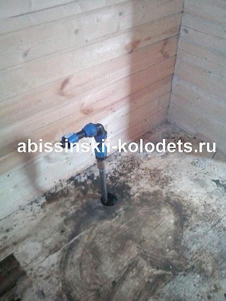 абиссинский колодец непосредственно в доме