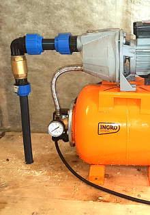 Бурение скважин на воду: насос абиссинского колодца