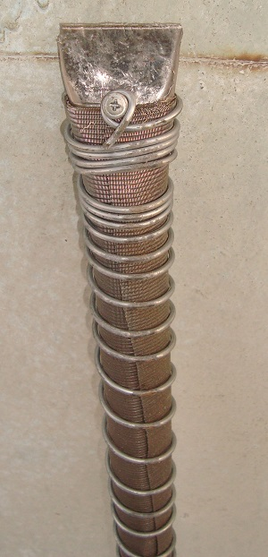 Смонтированный фильтр для абиссинского колодца c проволокой и сеткой