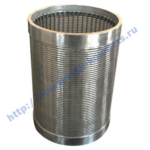 Проволочный фильтр для скважин