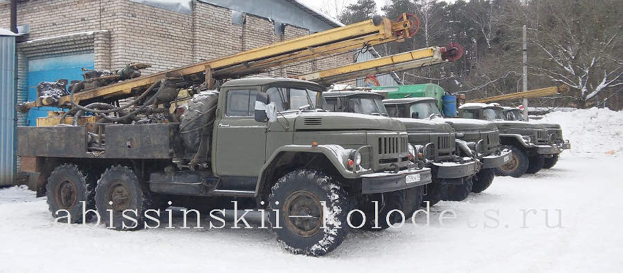 буровая установка УРБ 2-А2 на базе автомобиля ЗИЛ 131